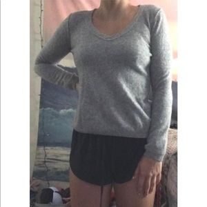 Grey Chasmere Sweater